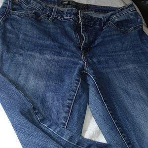Levi's San Francisco boot cut bold curve jeans